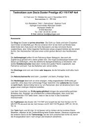 Testnotizen zum Skoda Roomster 1 - verkehrsRUNDSCHAU.de