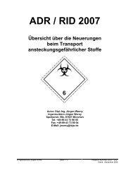 ADR / RID 2007 - verkehrsRUNDSCHAU.de