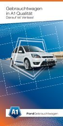 A1 Ford Gebrauchtwagen - GW-trends