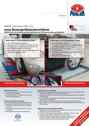 neue Bremsprüfstandsrichtlinie - OmnibusRevue