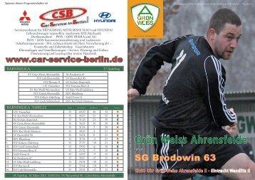 Nr.1 / 2012 - SV Grün-Weiss Ahrensfelde
