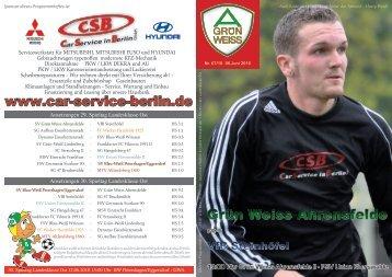 Nr.7 / 2010 - SV Grün-Weiss Ahrensfelde