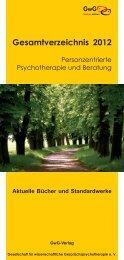 Verlagsprogramm GwG 2012 (PDF, 4204KB)