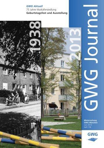 GWG Journal 176 - GWG München