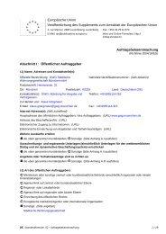 EU-Bekanntmachung: Tragwerksplanung - GWG München