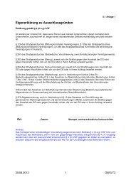 Eigenerklärung Ausschlussgründe VOF (PDF)