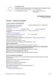 Auftragsbekanntmachung - Objektplanung gem ... - GWG München