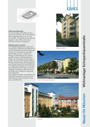 Wohnanlage Schopenhauerstraße - GWG München