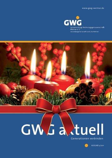 Generationen verbinden - GWG Weimar