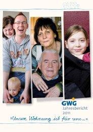 Jahresbericht 2011 - GWG Weimar