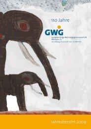 *AHRESBERICHT - GWG Weimar