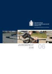 JAHRESBERICHT 2006 - GWG Weimar