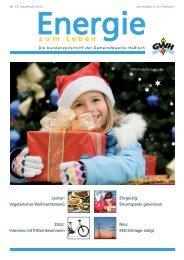 Kundenzeitschrift Ausgabe Nr. 10 Dezember 2012