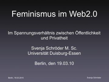 Feminismus im Web2.0