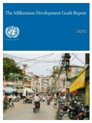 Millennium Development Goals Report 2010