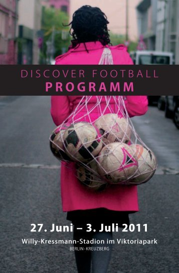Programm DISCOVER FOOTBALL