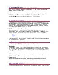 Why do I need a User Account? - GwinnettMD