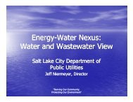 Water Nexus - Groundwater Protection Council
