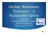 On Site Wastewater On-Site Wastewater Treatment - Groundwater ...