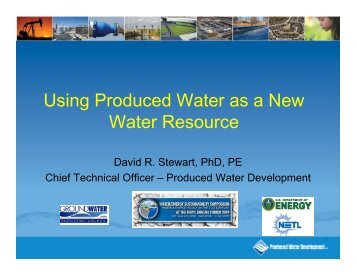 Using Produced Water as a New Water Resource