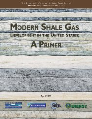 Modern Shale Gas Development in the United States - Groundwater ...