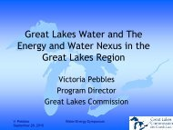 Great Lakes Diversions - Groundwater Protection Council