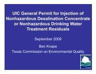 UIC General Permit