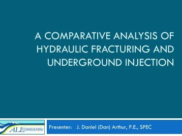 A Comparative Analysis of Hydraulic Fracturing - Groundwater ...