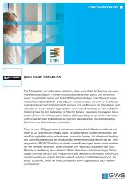 Eisen Schmidt GmbH & Co. KG - GWS mbH