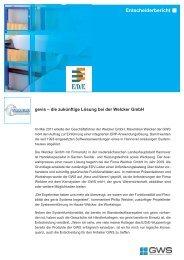 Welcker GmbH - GWS mbH