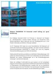 Wolfgang Haberzettl GmbH - GWS mbH
