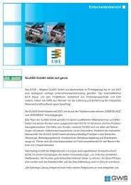 GLASS GmbH Fachgroßhandel für Industrie & Handwerk