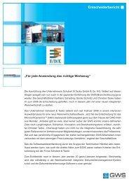 Schubert & Tacke GmbH & Co. KG - GWS mbH