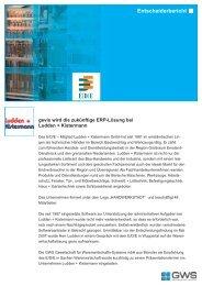 Ludden + Kistermann GmbH - GWS mbH