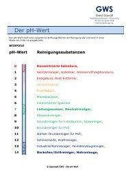 Der pH-Wert - Gws-sawall.de