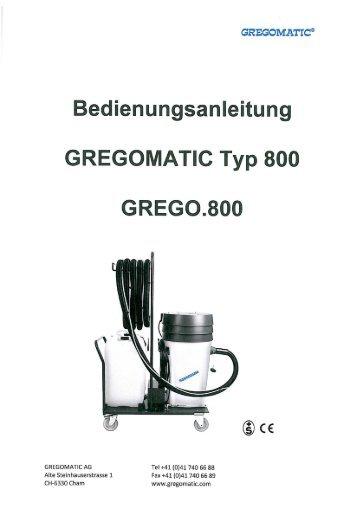 GREGOMATIC Typ 800 - Gws-sawall.de