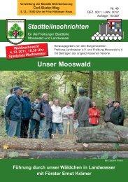 Bilder aus Landwasser - Bürgerverein Freiburg Mooswald ev