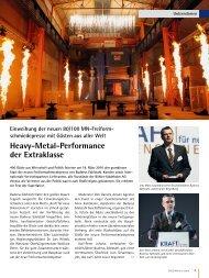 Heavy-Metal-Performance der Extraklasse - Buderus Edelstahl Gmbh