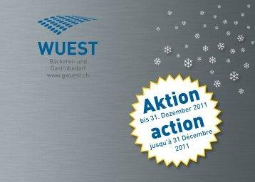 Aktion action - Wuest Bäckerei