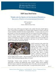Hspi issue brief series - George Washington University Medical Center