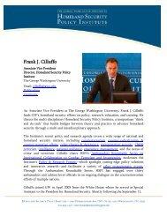 PDF of biography - George Washington University Medical Center