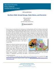 HSPI Issue Brief 20 Northern Mali - George Washington University ...