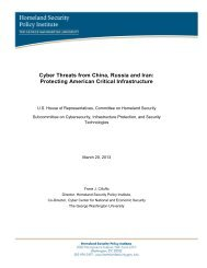Cyber Threats from China, Russia and Iran - George Washington ...