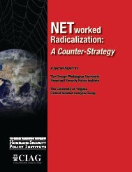 NETworked Radicalization: A Counter-Strategy (2007) - George ...