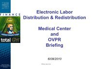 EPAF and Labor Redistribution Briefing