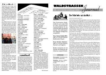 NR. 14 • 02/02 • Februar 2002 - Gymnasium Waldstraße
