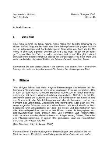 Aufsatz themen struktur aufsatz deutsch