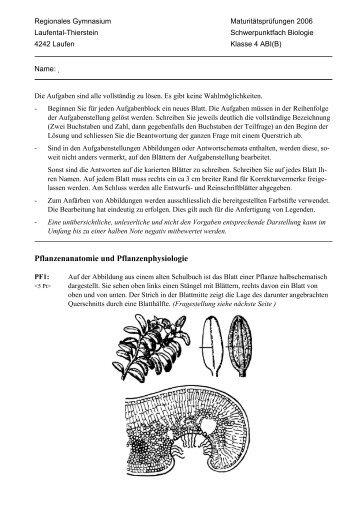 Tolle Vater Von Pflanzenanatomie Fotos - Anatomie Von Menschlichen ...