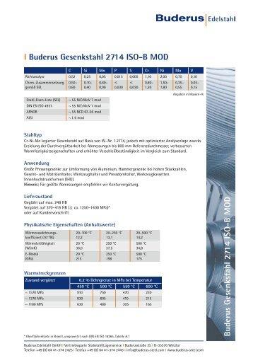 l 2714 ISO-B MOD - Buderus Edelstahl Gmbh