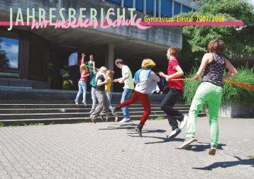 Jahresbericht 2007/08 - Gymnasium Liestal
